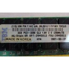 IBM 39M5811 39M5812 2Gb (2048Mb) DDR2 ECC Reg memory (Евпатория)