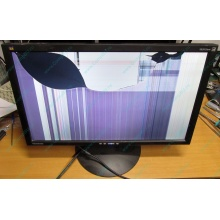 "Монитор 24"" TFT ViewSonic VA2413WM (разбита матрица) - Евпатория"