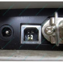 Термопринтер Zebra TLP 2844 (выломан USB разъём в Евпатории, COM и LPT на месте; без БП!) - Евпатория