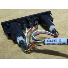 HP 224998-001 в Евпатории, кнопка включения питания HP 224998-001 с кабелем для сервера HP ML370 G4 (Евпатория)