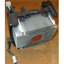 Кулер для процессоров socket 478 с медным сердечником внутри алюминиевого радиатора Б/У (Евпатория)