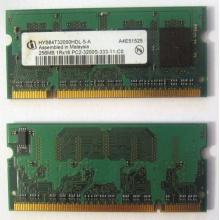 Модуль памяти для ноутбуков 256MB DDR2 SODIMM PC3200 (Евпатория)
